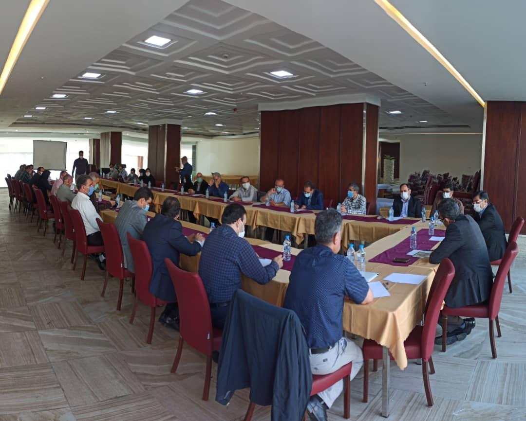"""بیست و دومین کمیته ملی راهبری پروژه """"الگوسازی مشارکت مردم در احیای دریاچه ارومیه"""" برگزار شد"""